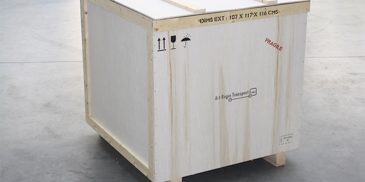 fine art shipping - standard packing